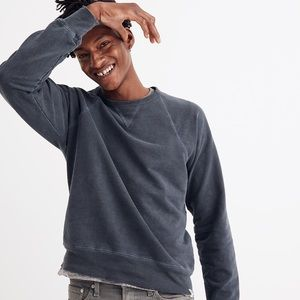 Madewell Crewneck Sweatshirt - Blue